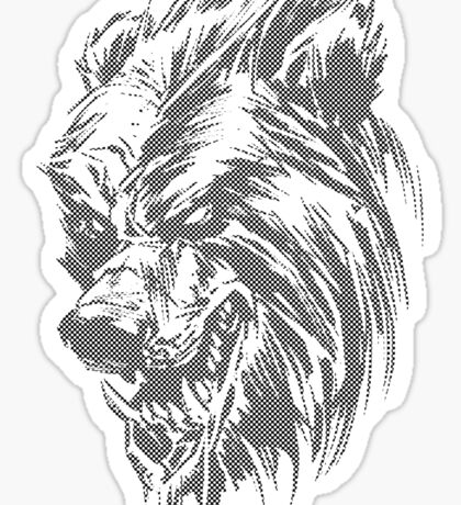 The Benday Bear Experiment Sticker