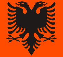 Albanian double headed eagle by Designzz
