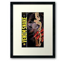 Venom Snake #1 Framed Print