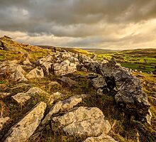 Norber Erratics (HDR) by Stephen Knowles