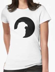 Eagle moon Womens Fitted T-Shirt