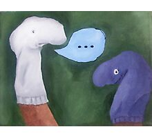 The Sock Puppet and His Mate Photographic Print