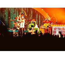 Dr. Dog & The Philly Phanatic - Print Photographic Print