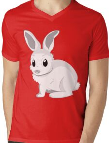 White rabbits Mens V-Neck T-Shirt