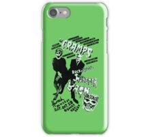 The Cramps - Concert Poster iPhone Case/Skin