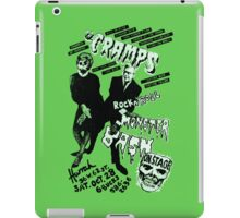 The Cramps - Concert Poster iPad Case/Skin