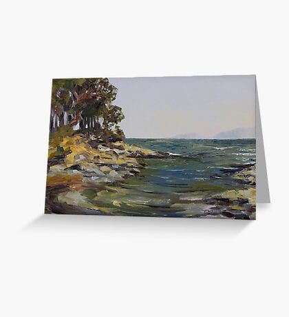 Oyster Bay Late July Greeting Card