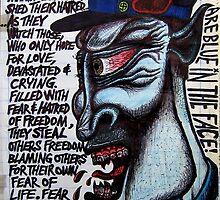 BlueInTheFace by jason cesarz