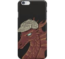 The Hobbit Smaug, Sherlock crossover iPhone Case/Skin
