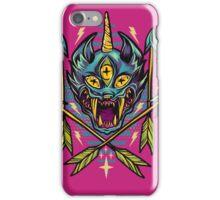 Cat Beast  iPhone Case/Skin