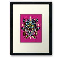 Cat Beast  Framed Print