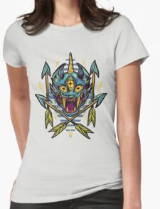 Cat Beast  Womens Fitted T-Shirt
