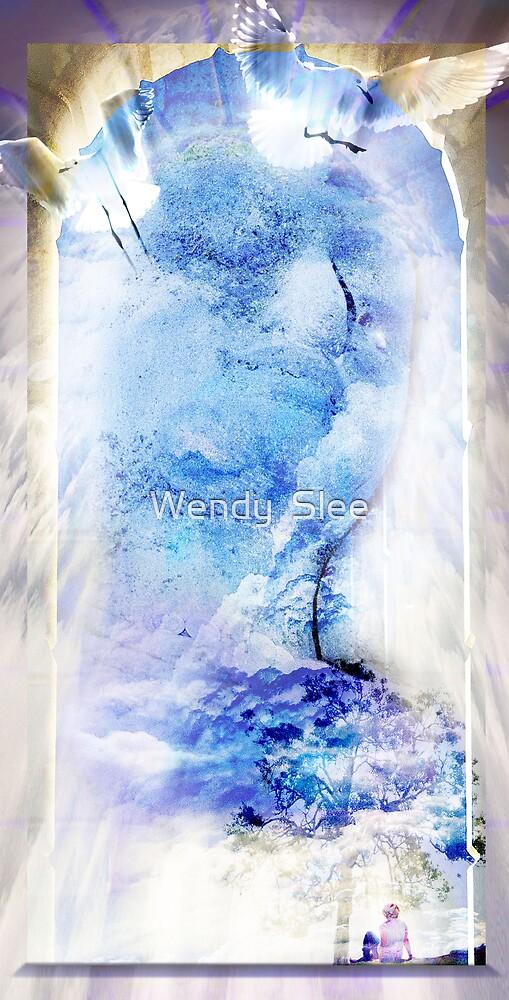 Avalokiteshvara by Wendy  Slee