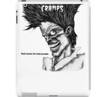 Bad music for Bad people iPad Case/Skin