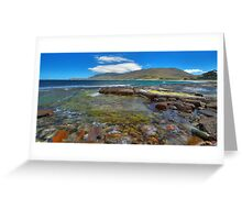 Tessellated Pavement, Tasmania Greeting Card