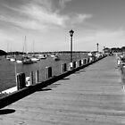 Boardwalk | Northport, New York  by © Sophie W. Smith