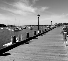 Boardwalk | Northport, New York  by © Sophie W. Smith