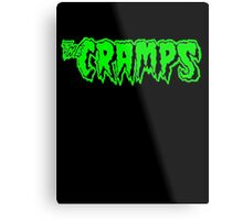 The Cramps (green) Metal Print