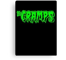 The Cramps (green) Canvas Print