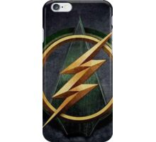 Arrow Flash Crossover iPhone Case/Skin
