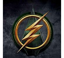 Arrow Flash Crossover Photographic Print