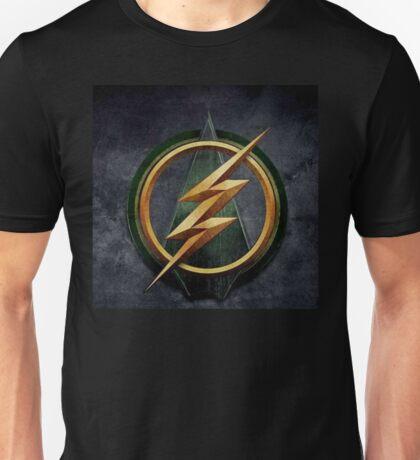 Arrow Flash Crossover Unisex T-Shirt