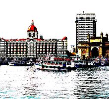 Gateway of India by santoshputhran
