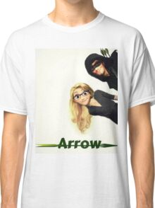 Olicity Tangled Arrow Crossover Classic T-Shirt