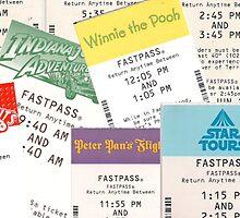 Disney Fastpass by JakeyJurin