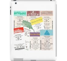 Disney Fastpass iPad Case/Skin