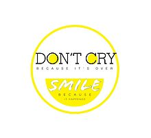 Don't Cry, Smile by Jooahn Kwon