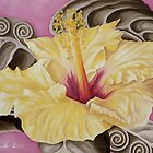 Yellow Hibiscus by Kim Bender