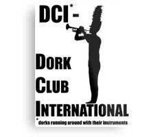 Dork Club International Metal Print