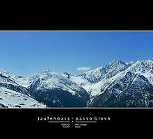 Jaufenpass - passo Giovo by Martijn Budding