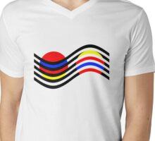 Op-art n. 1 Mens V-Neck T-Shirt