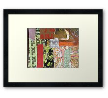 xlred Framed Print