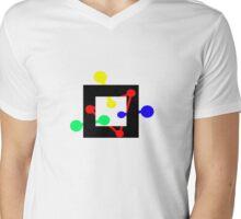 Op-art n.2 Mens V-Neck T-Shirt