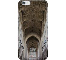 Inside the Bath Abbey iPhone Case/Skin