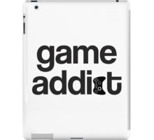 game addict iPad Case/Skin