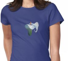 Arum Lily Womens Fitted T-Shirt