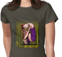 heather Womens Fitted T-Shirt
