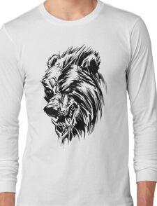 Black Werebear Long Sleeve T-Shirt