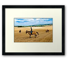 Austrian plains Framed Print