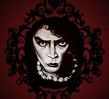 Sweet Transvestite :: Rocky Horror Fan Art by Kristin Frenzel