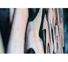 Grafitti Capture Photographic Print