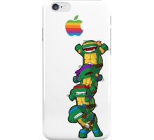 Apple with Ninja Turtles  iPhone Case/Skin