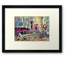 From the White Room in Aix en Provence Framed Print