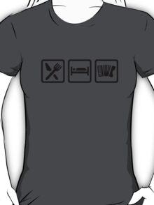 Eat Sleep Accordion T-Shirt