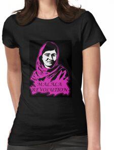 Malala Revolution Womens Fitted T-Shirt