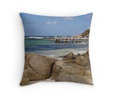 Storm Bay Throw Pillow